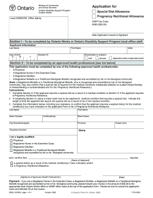 application for seniors mowing servce allowance