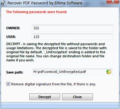 brute force pdf password