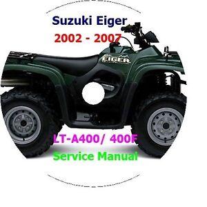 2006 suzuki lt f160 manual