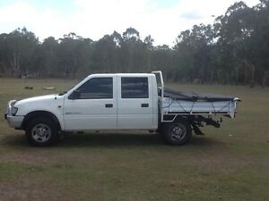 1998 holden rodeo dual cab ute manual