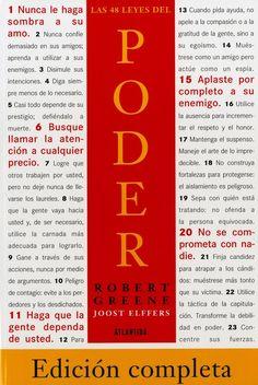 48 leyes del poder pdf libro completo