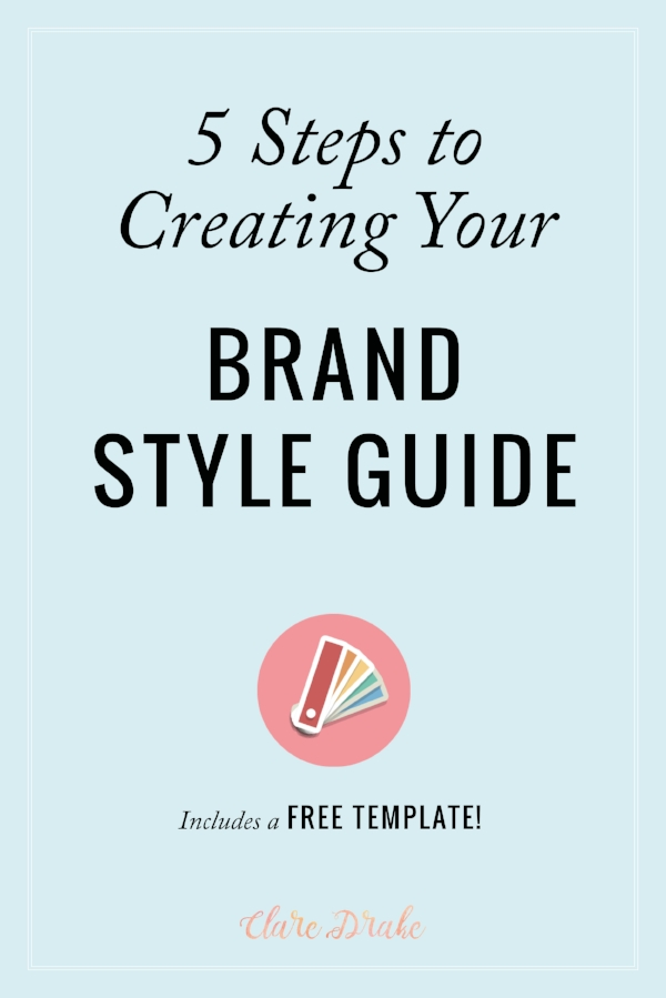 creating your personal style guide