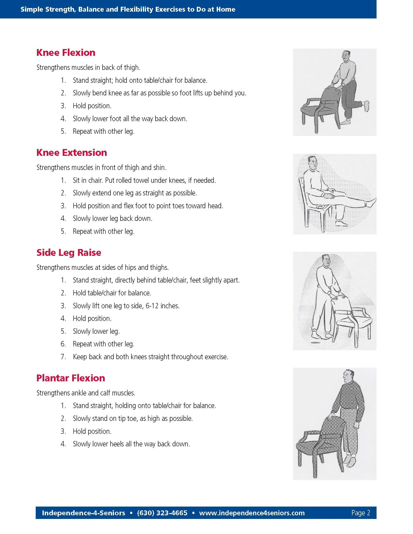 balance exercises for elderly pdf