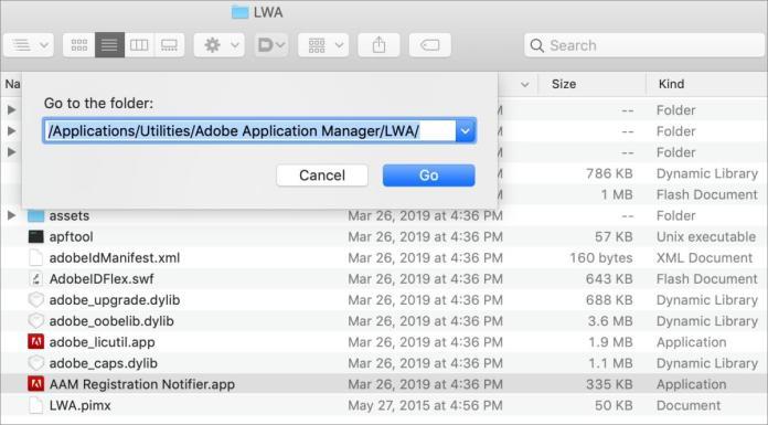 aam registration notifier application