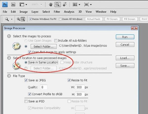 batch process pdf to jpg photoshop