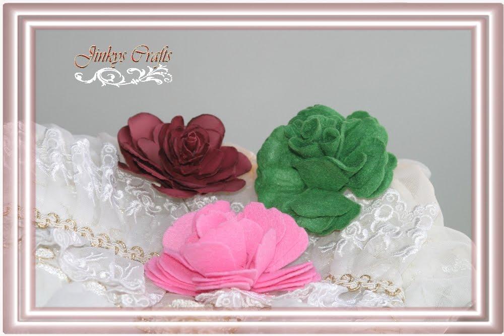 cricut 3d flowers instructions