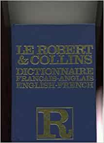 collins robert french dictionary amazon