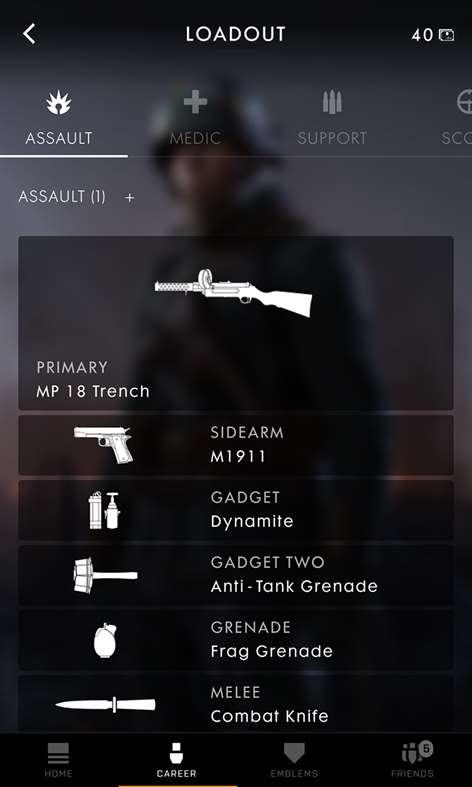 application battlefield 5 companion