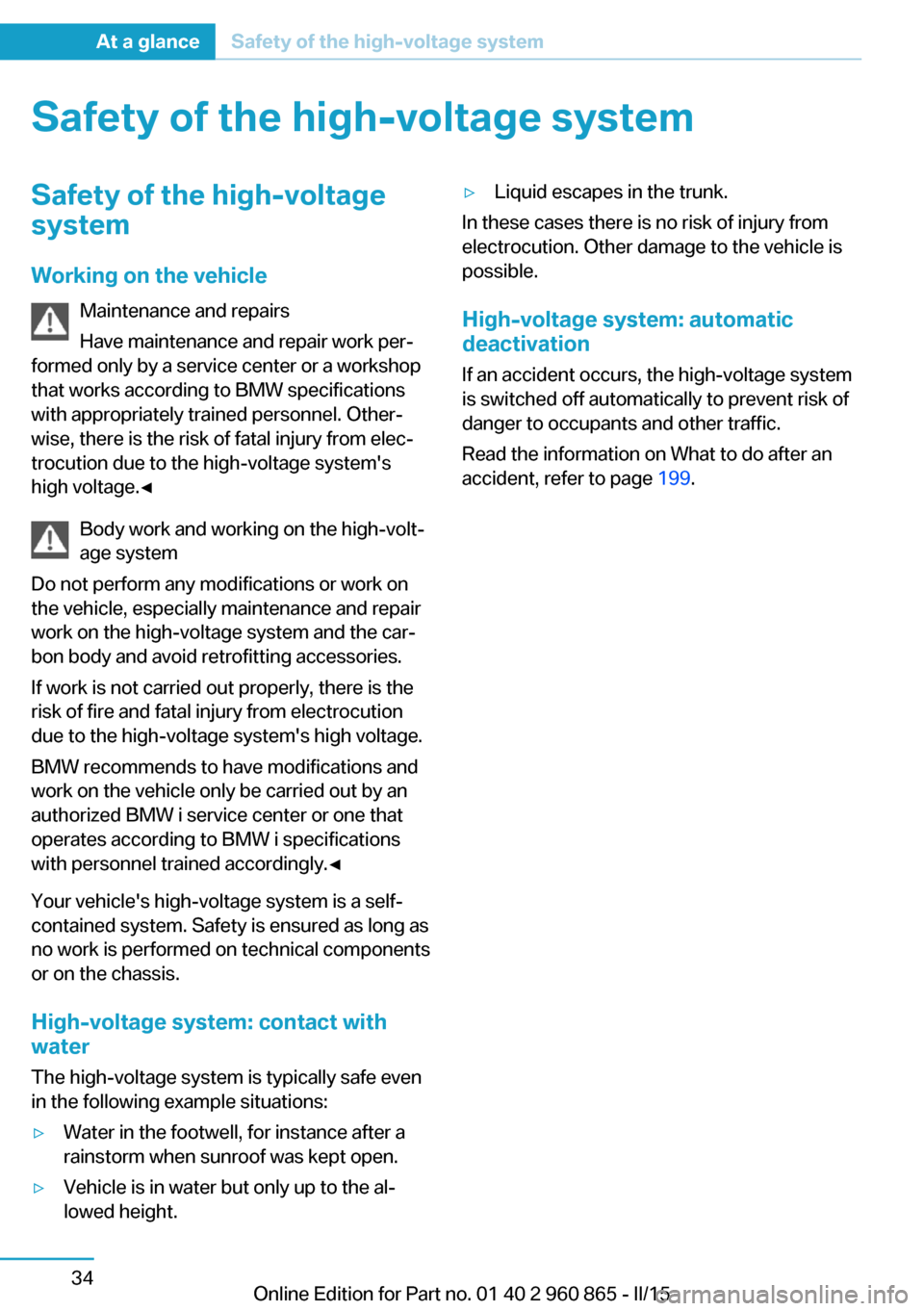 bmw i3 service manual