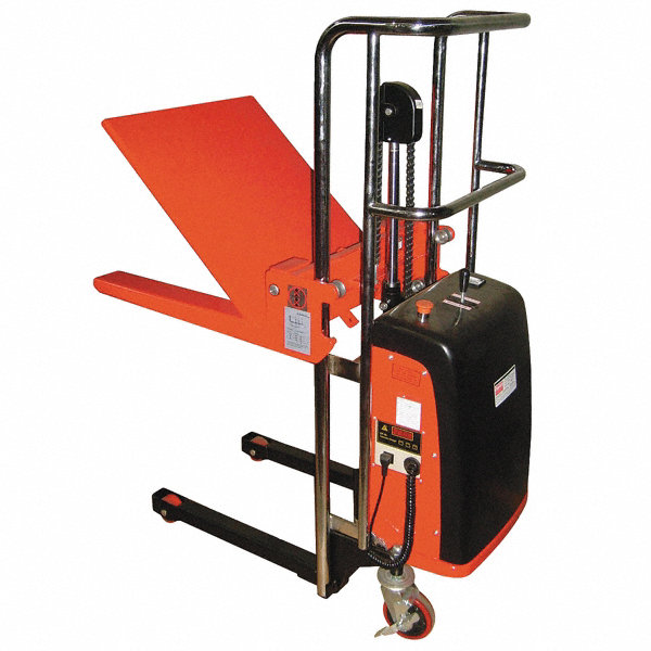 cart for manual pushing loads