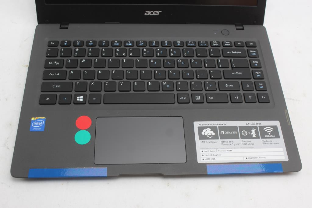 acer aspire one cloudbook 14 manual