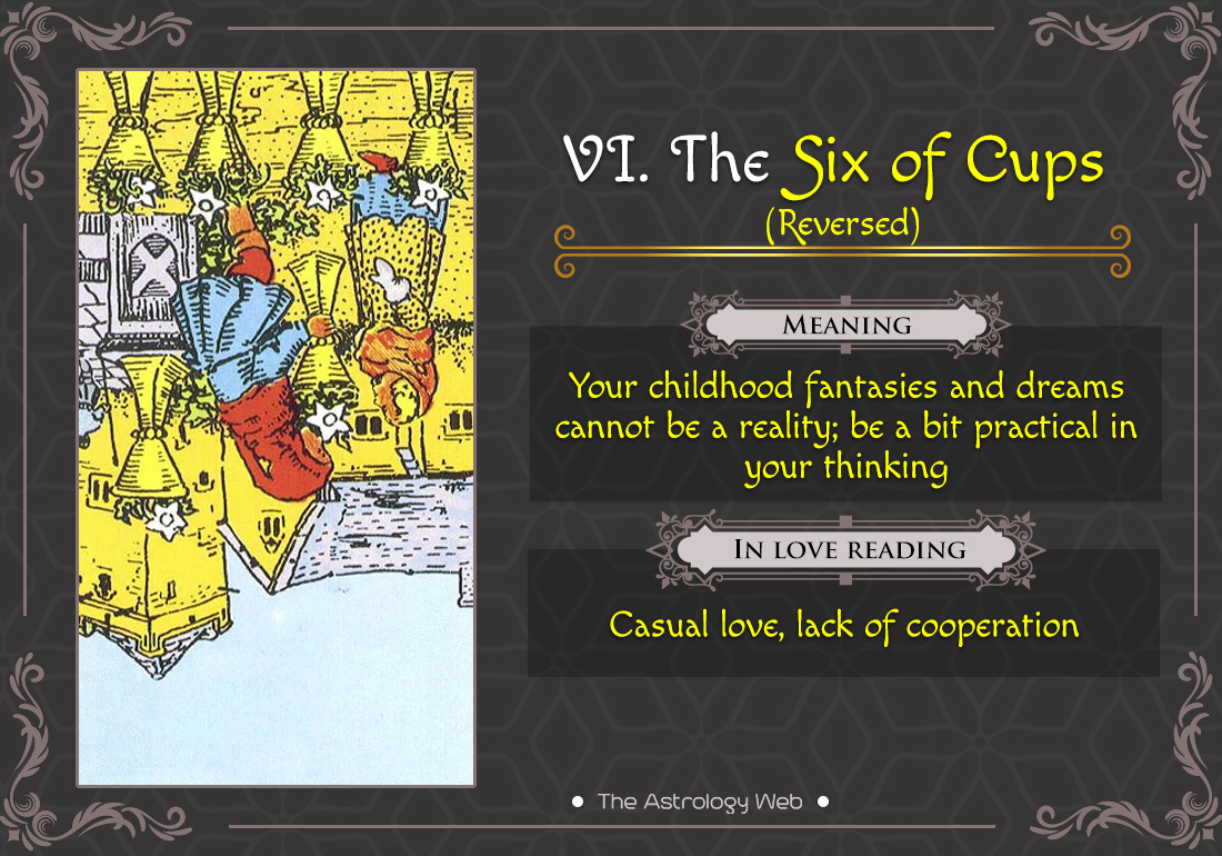 6 of cups tarot guide