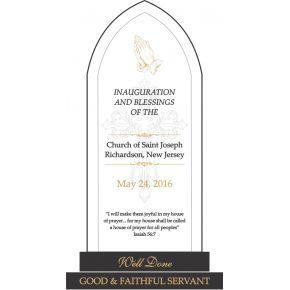church inauguration program sample