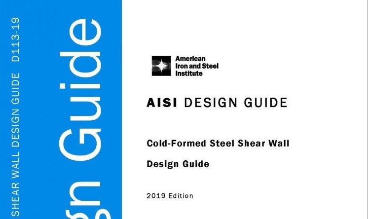 aisi s110 cold-formed steel framing design guide