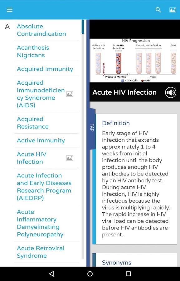 aidsinfo glossary