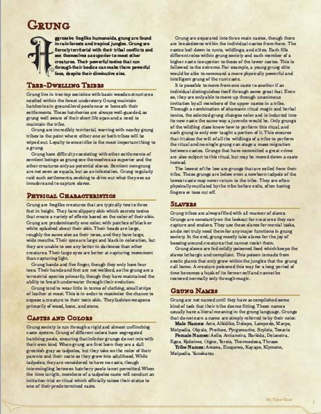 advanced race guide pdf
