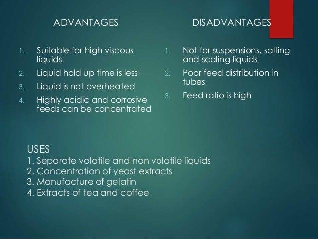 advantage and disadvantage application form