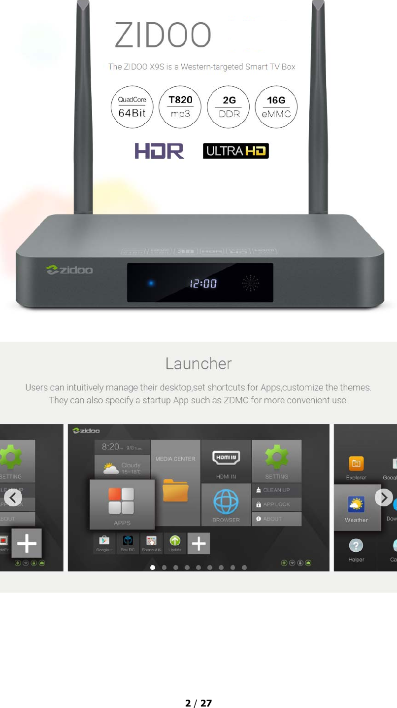 android tv box user manual pdf