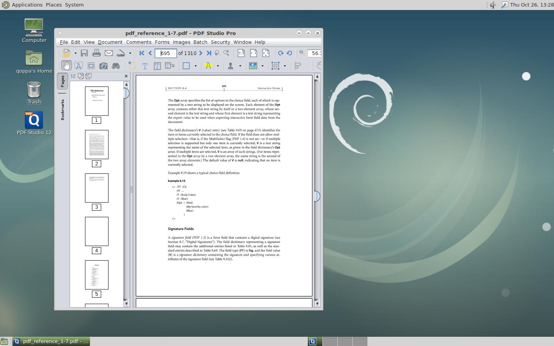 annotate pdf kunux mint xodo