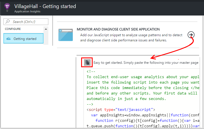 application insights api example