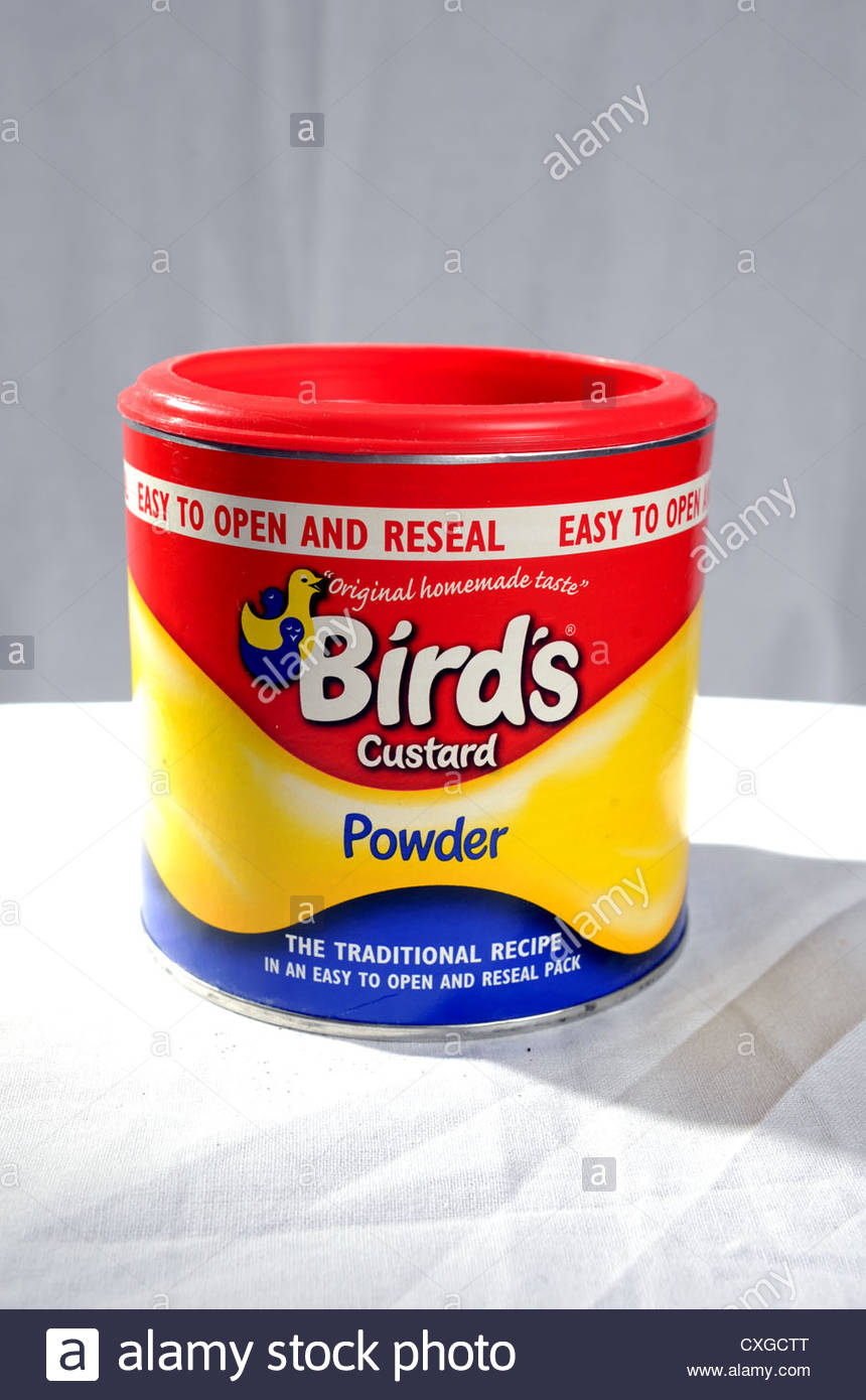 birds custard powder instructions