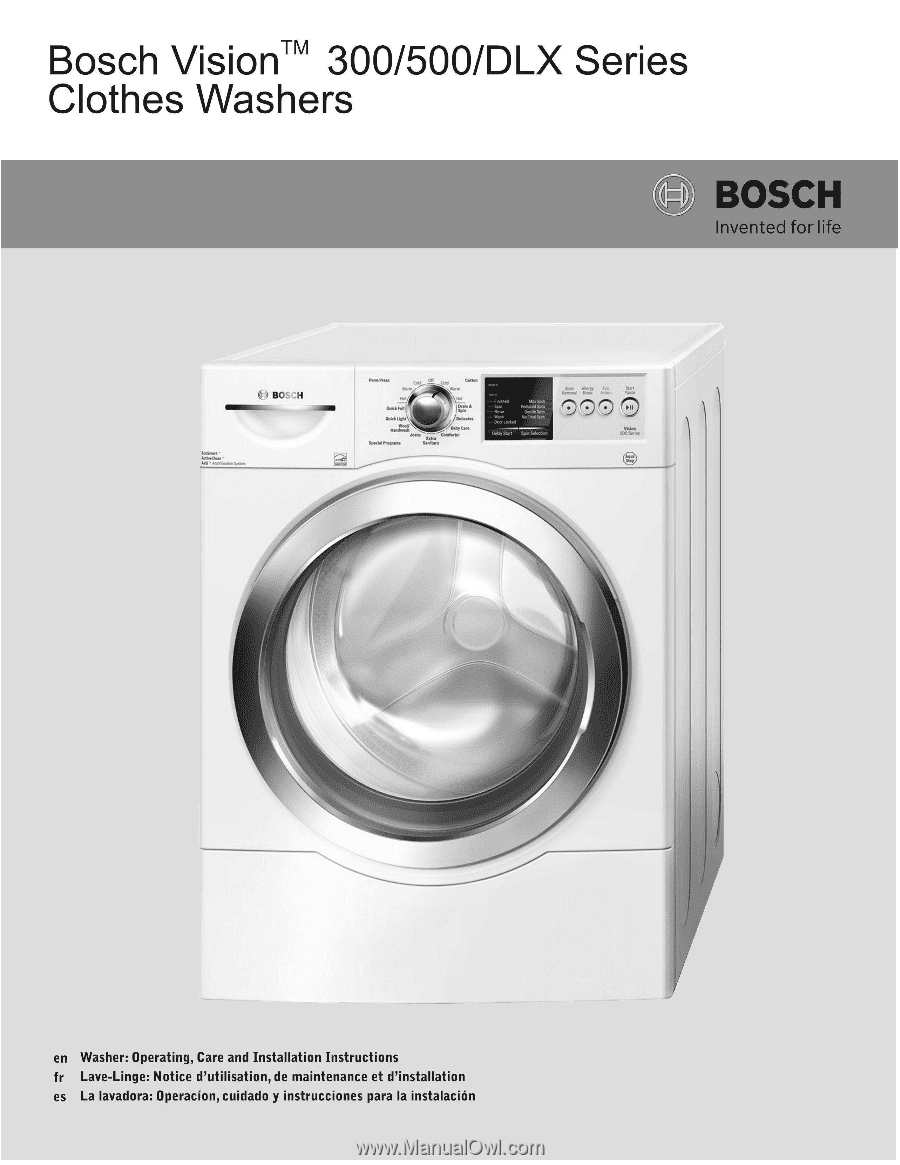 bosch 844 user manual