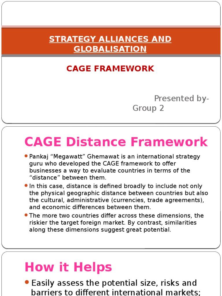 cage framework pankaj ghemawat pdf