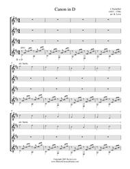 canon in d guitar duo pdf