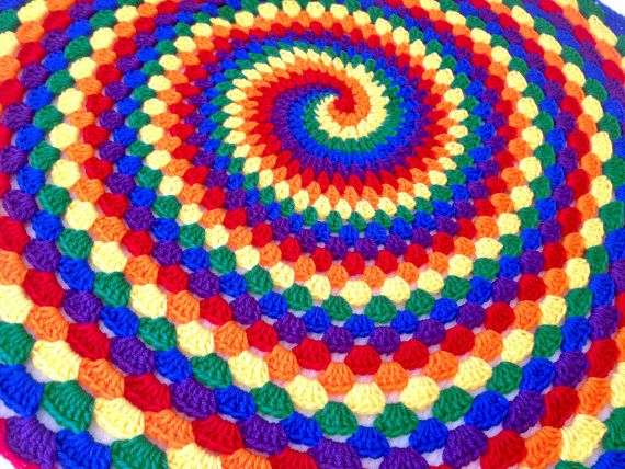 crochet spiral instructions