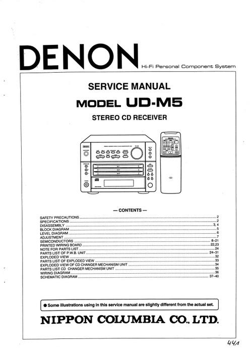 denon avr 1708 manual