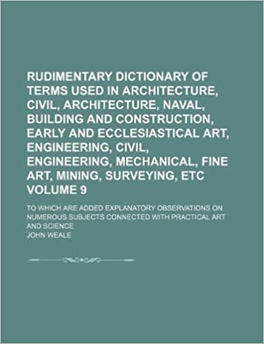 dictionary of terms john weale
