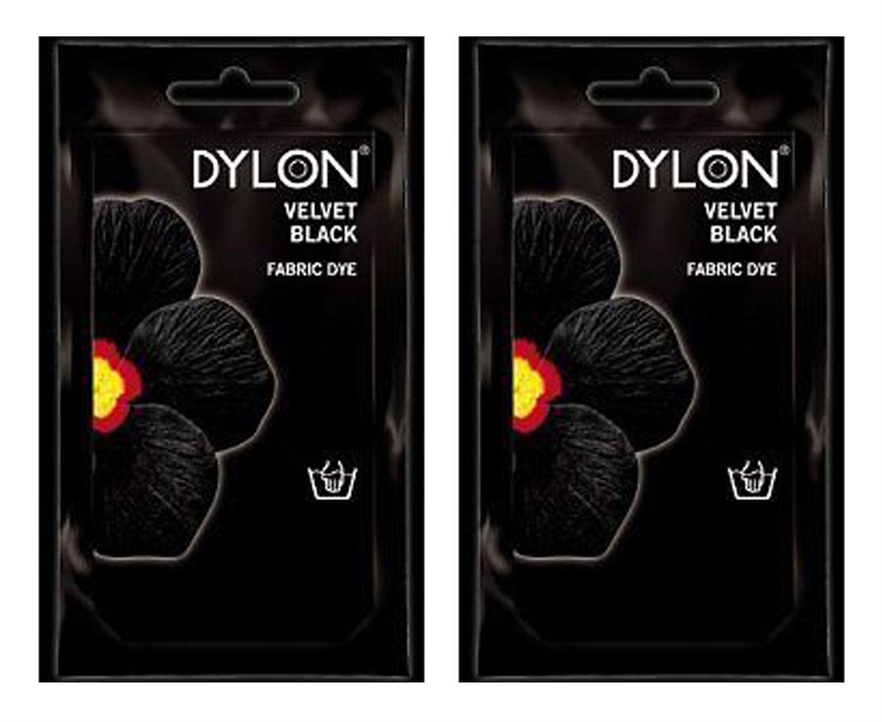 dylon velvet black fabric dye instructions