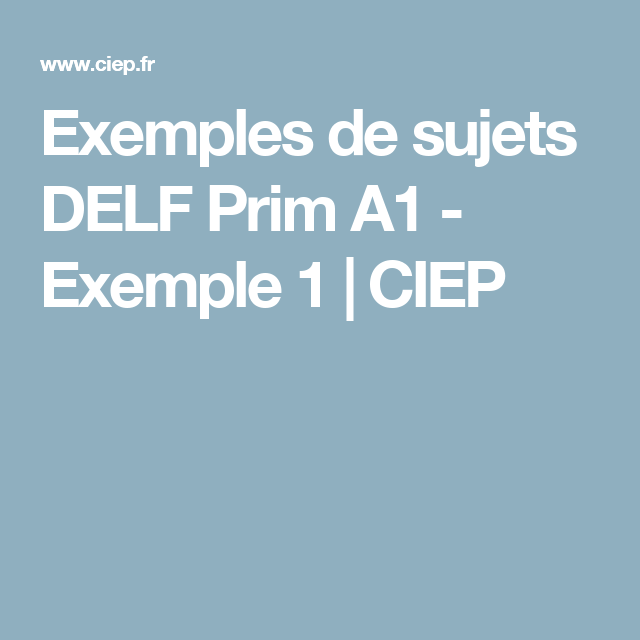 ciep sample papers
