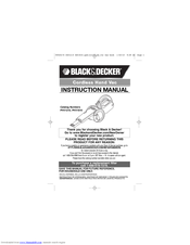 black and decker sms500 xe manual