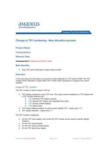 amadeus manual pdf